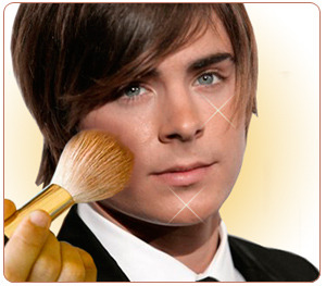 Will we be judging guys who wear make up because we think of it as a